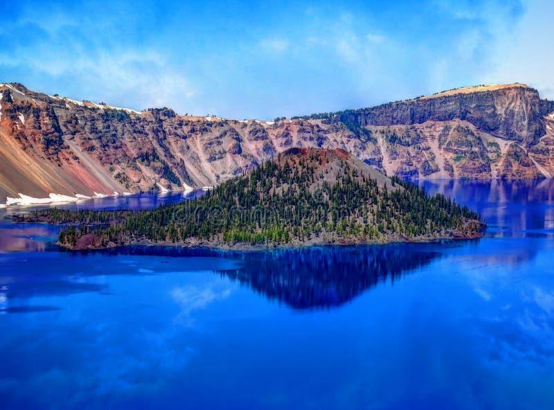 Mount Mazama royalty free stock photography