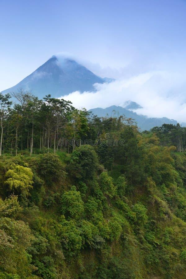 Mount Merapi stock photos