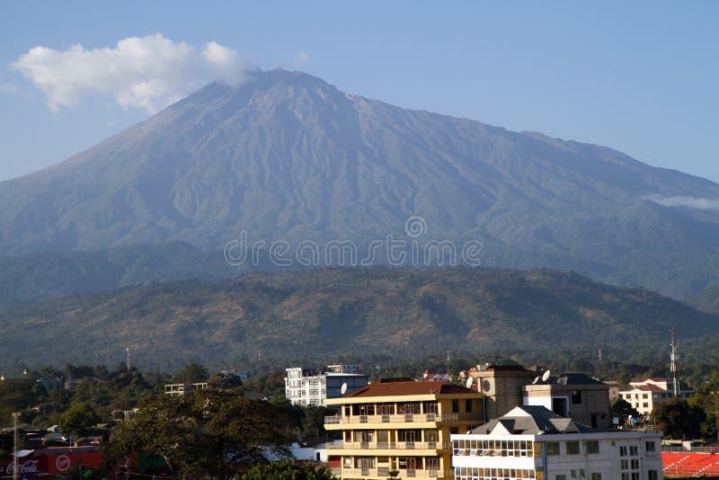 Mount meru stock images