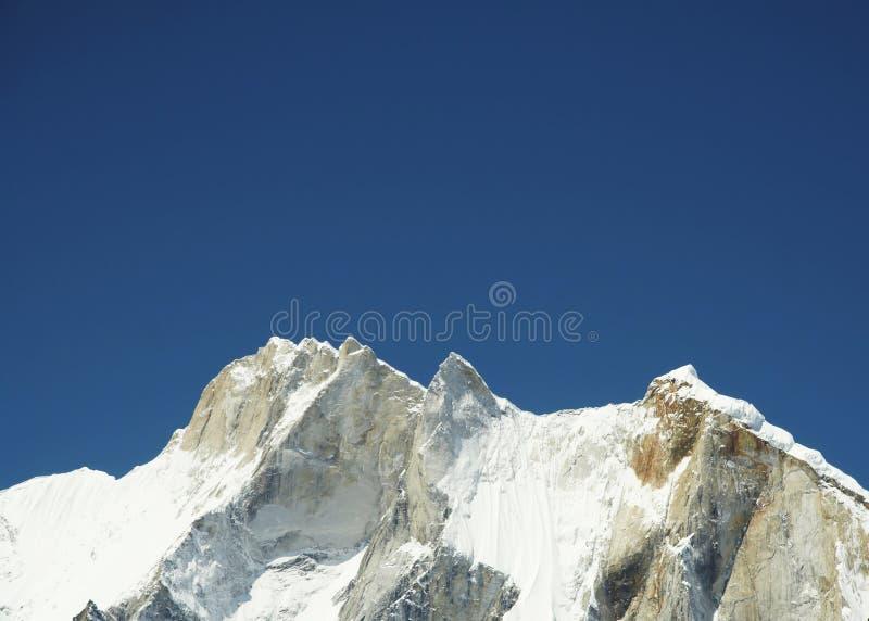 Mount Meru in Himalayan. India royalty free stock photos