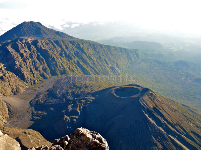 Mount meru. Mount mere the 2nd highest in tanzania royalty free stock photo