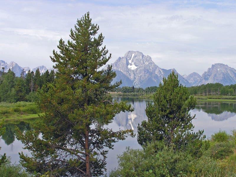 Mount Moran 2 stock photos
