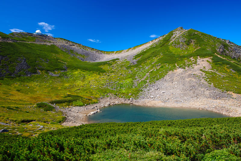 Mount Norikura royalty free stock images
