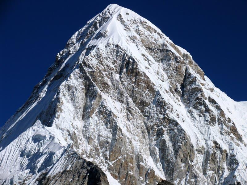 Mount Nuptse stock image