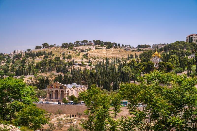 Mount of Olives стоковые изображения rf