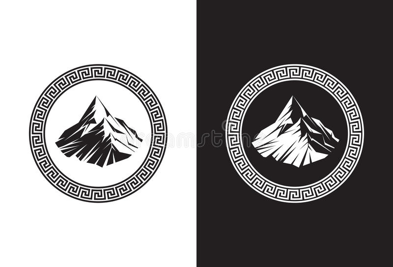 Mount Olympus stock photography