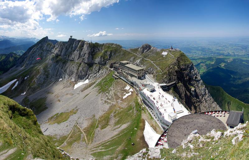 Download Mount Pilatus Esel summit stock image. Image of concrete - 27400583