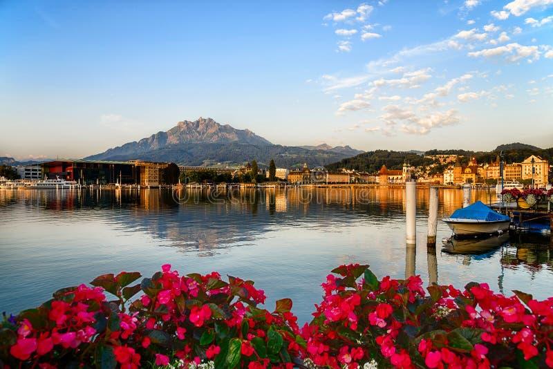Mount Pilatus in Lucerne, Switzerland royalty free stock photos