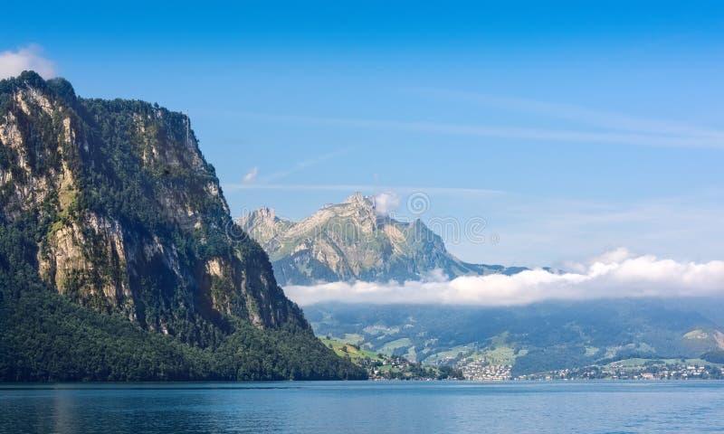 Mount Pilatus in Switzerland stock photos
