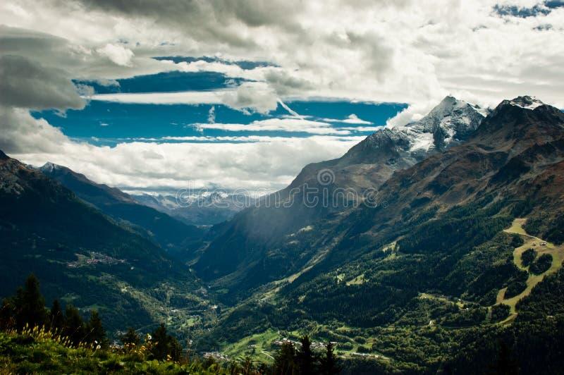 Mount Pourri royalty free stock photos