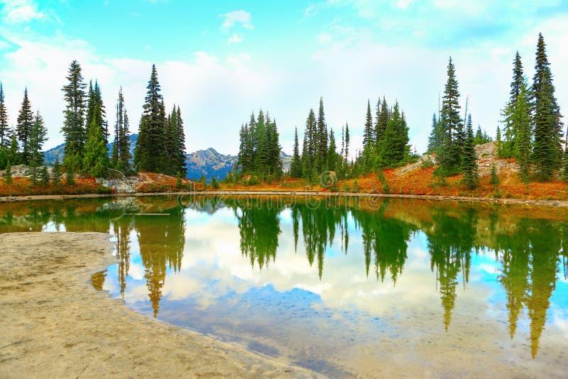 Mount Rainier, Washington stock photo