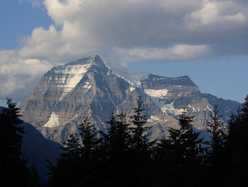 Mount Robson In The Rockies Stock Images