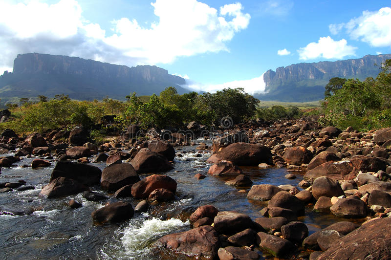 Mount Roraima - Venezuela stock photography
