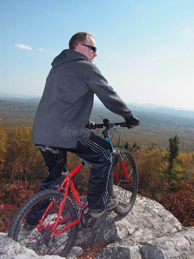 mount rowerów obraz stock