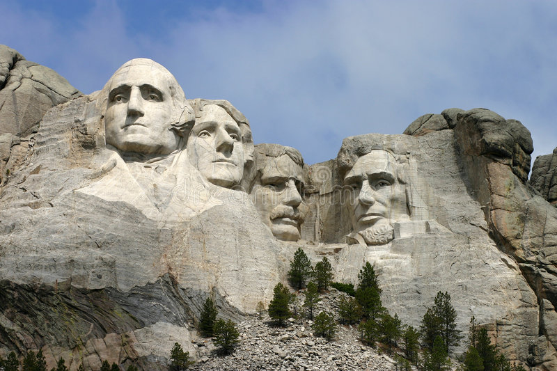 mount rushmore obraz stock