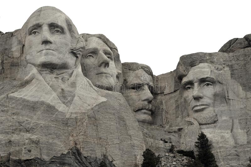 Mount Rushmore arkivbild