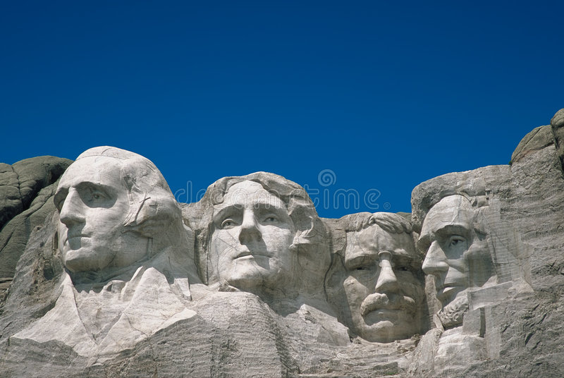 Mount Rushmore. In South Dakota stock images
