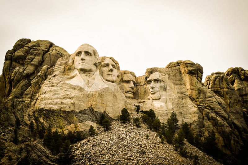 Mount Rushmore royaltyfri fotografi