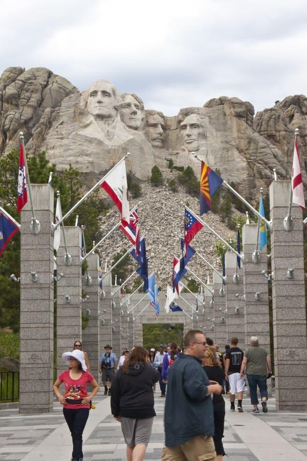 mount rushmore krajowych pamiątkowy zdjęcie stock