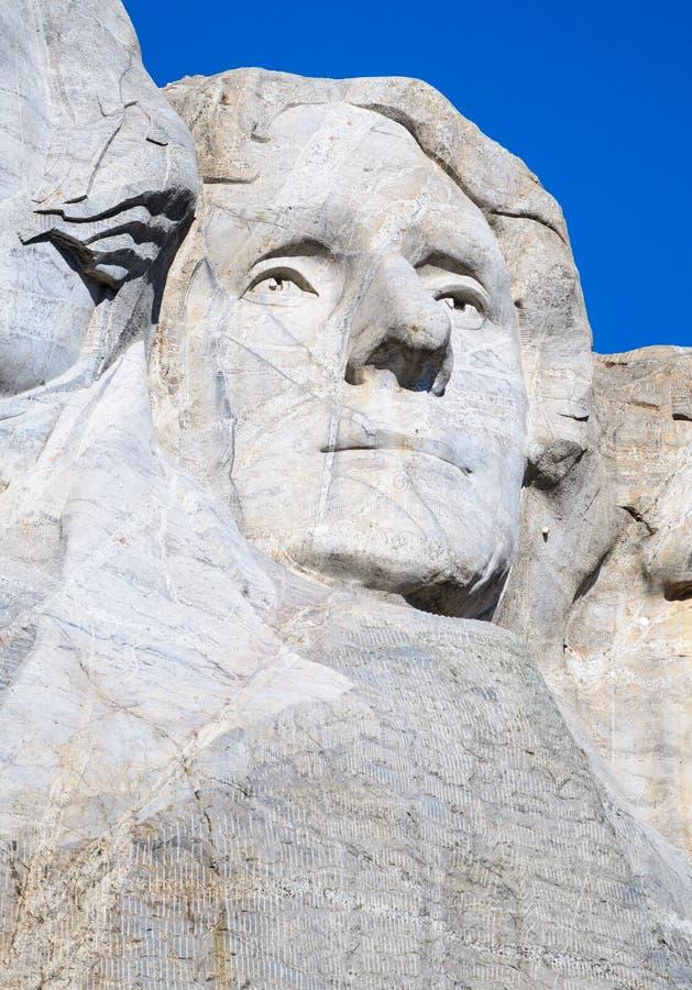 Mount Rushmore National Memorial. Carving Dakota stock photo