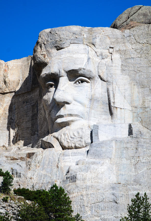 Mount Rushmore National Memorial. Carving Dakota stock images