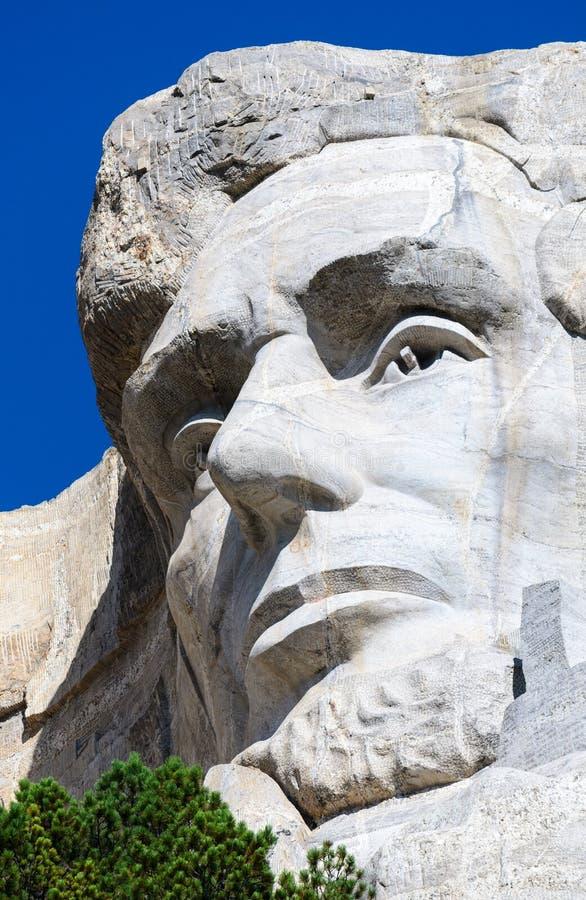 Mount Rushmore National Memorial. Carving Dakota royalty free stock photo