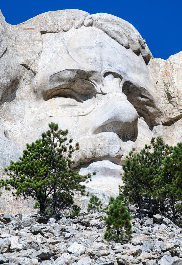 Mount Rushmore National Memorial. Carving Dakota royalty free stock photography