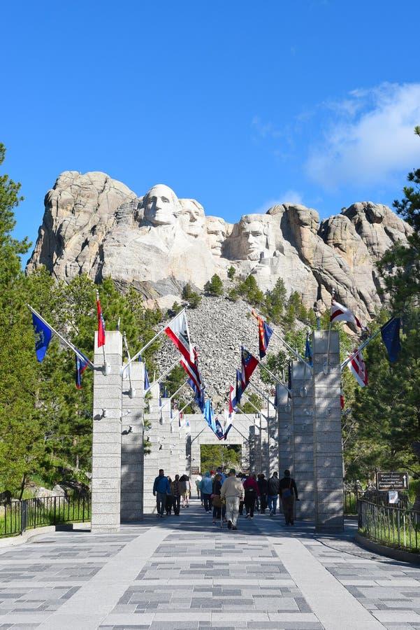 Mount Rushmore National Memorial royalty free stock photos
