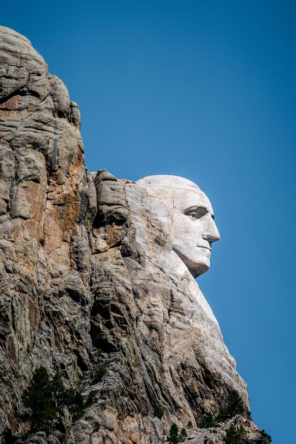 Mount rushmore national memorial , one of the famous national park and monuments in South Dakota, United States of America stock images