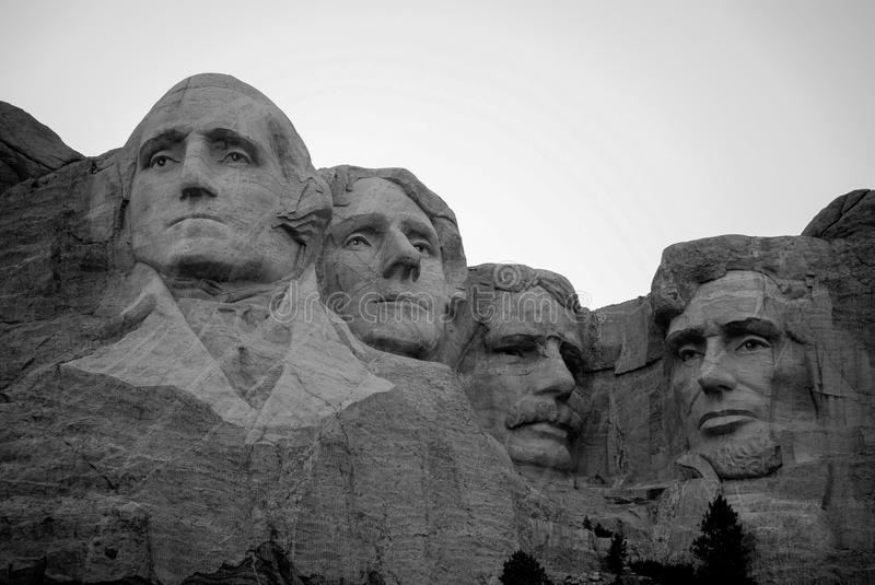 Mount Rushmore. National Memorial is a sculpture carved into the granite face of , a batholith in the Black Hills in Keystone, South Dakota. This is view from stock image