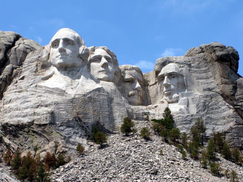 Mount Rushmore National Memorial in South Dakota stock photo