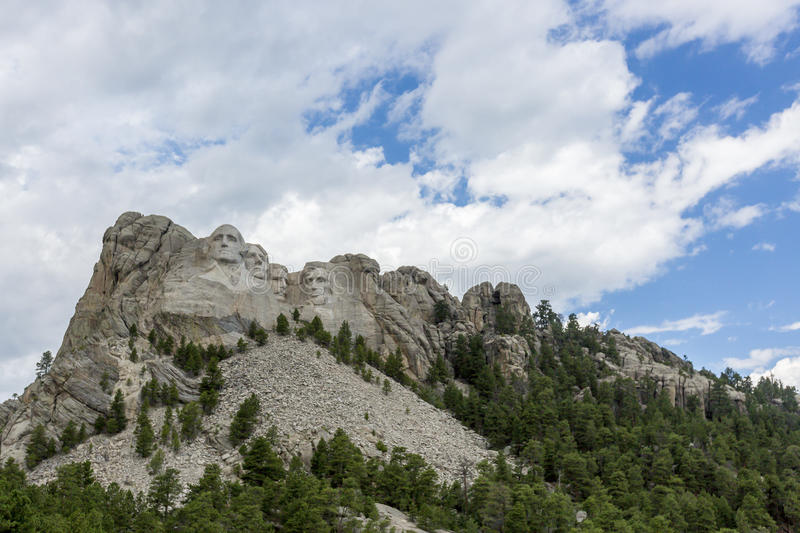 Mount Rushmore nationell minnesmärke i South Dakota, USA royaltyfri bild
