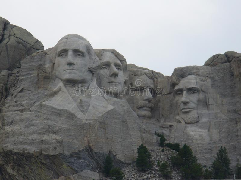 Mount Rushmore nationell monument i USA arkivbilder