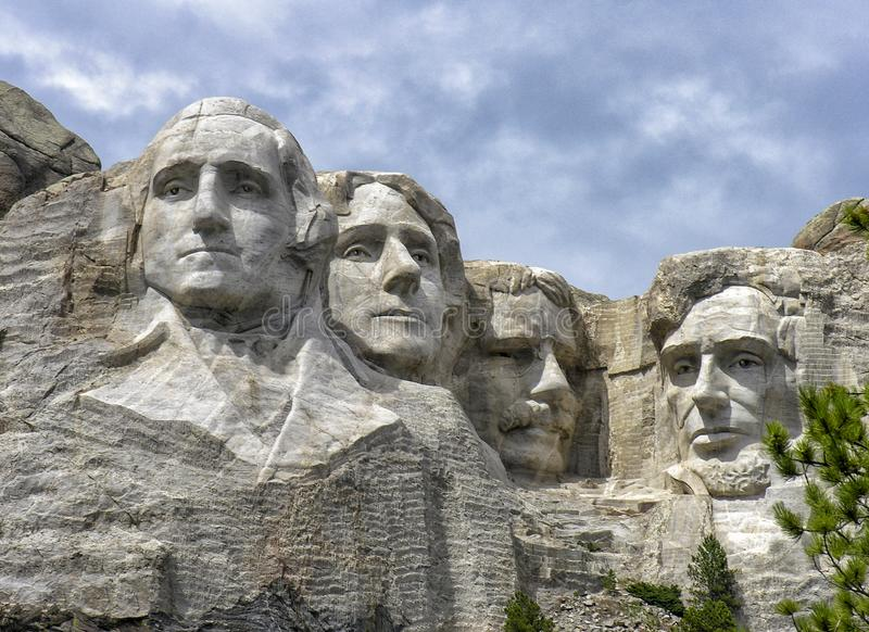 Mount Rushmore nationell monument, South Dakota royaltyfria foton