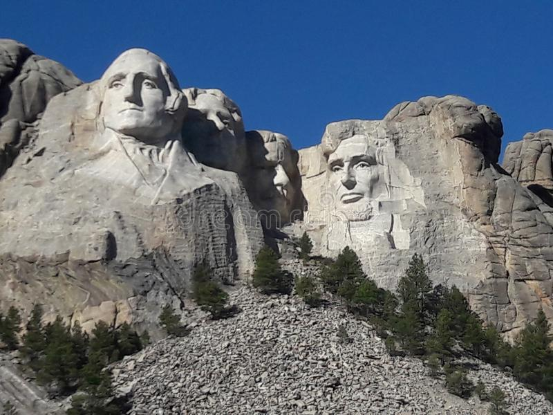 Mount Rushmore nationell monument South Dakota royaltyfri foto