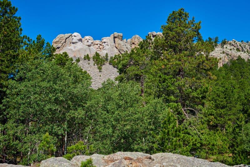 Mount Rushmore nationell monument South Dakota arkivfoto