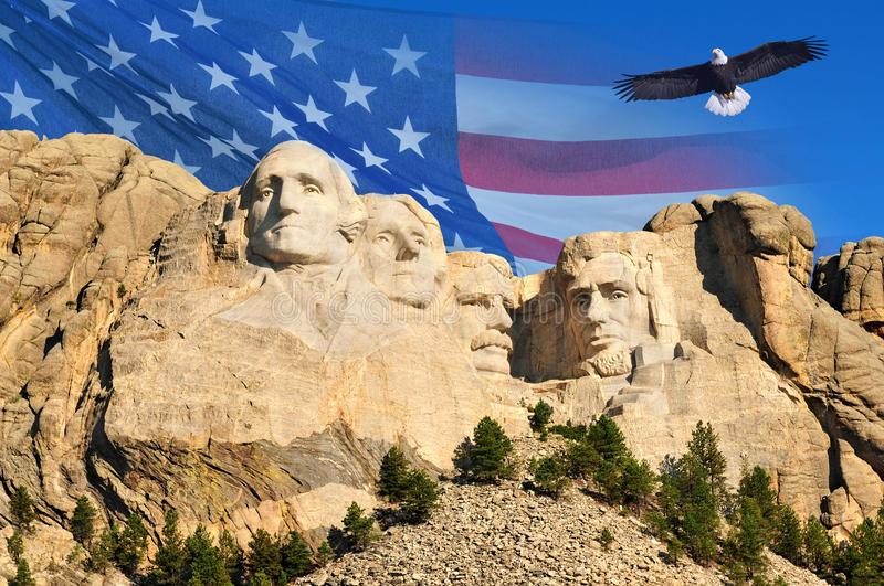 Mount Rushmore stock photography