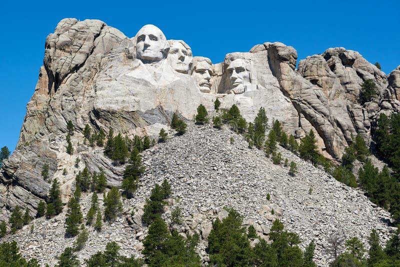 Mount Rushmore sydliga Dakota royaltyfria foton