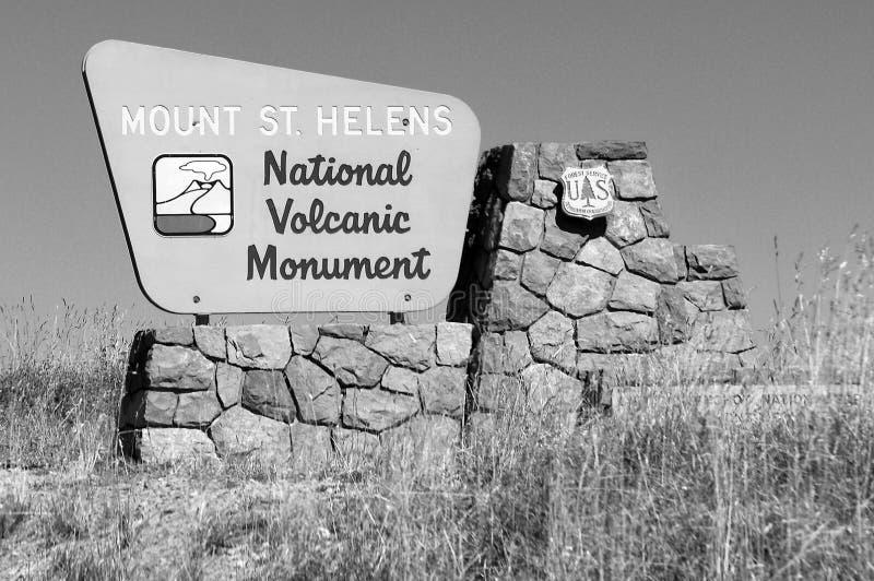 Mount Saint Helens Washington arkivfoton