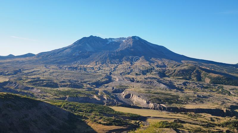 Mount Saint Helens Washington royaltyfria foton