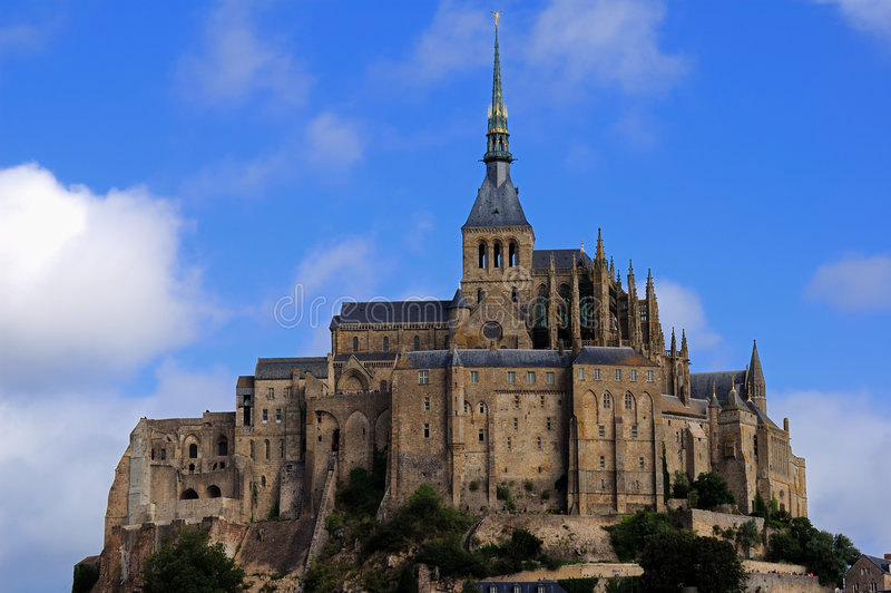 Download Mount saint Michel stock image. Image of fortification - 6430159