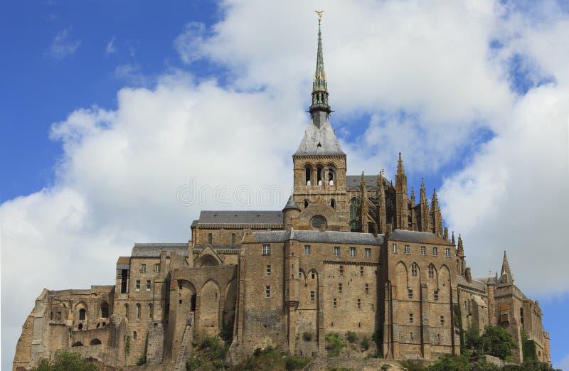 Mount Saint Michel-detail royalty free stock photos