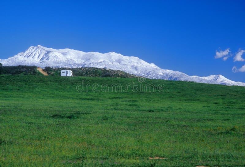 Mount San Jacinto royalty free stock image