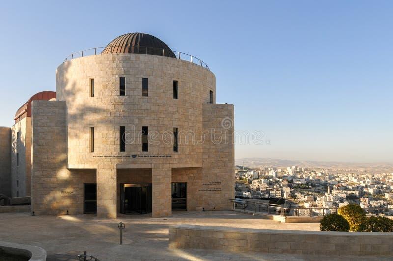 Mount Scopus - universidade hebreia imagem de stock royalty free