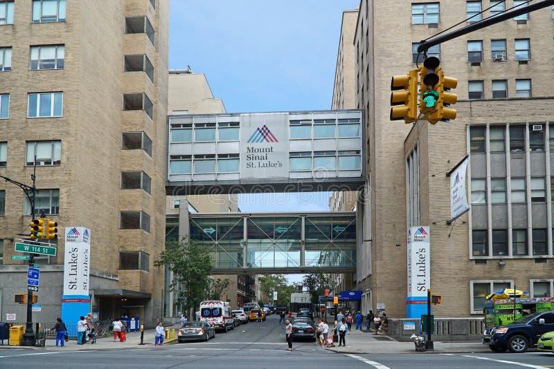 Mount Sinai Hospital editorial stock photo  Image of sinai