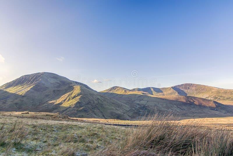 Mount Snowden Północna Walia Wielka Brytania fotografia stock