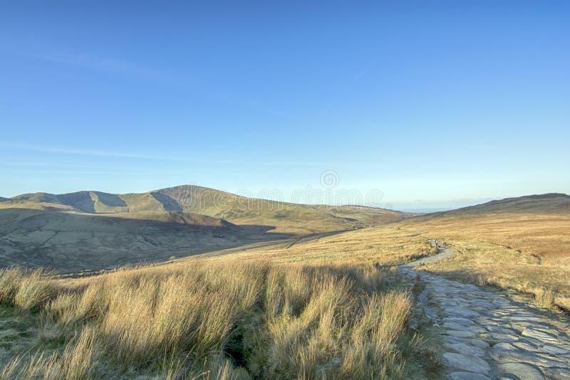 Mount Snowden Północna Walia Wielka Brytania zdjęcie royalty free