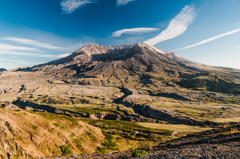 Mount St Helens stock photography