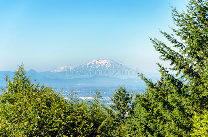 Mount St Helens stock photo