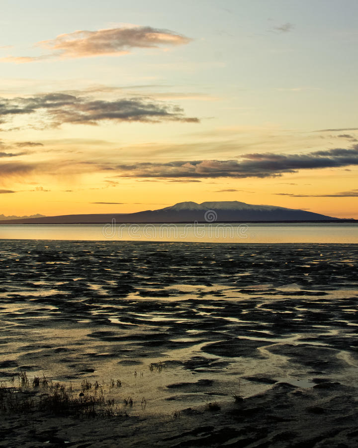 Download Mount Susitna at Sunset stock image. Image of lady, ocean - 22487565